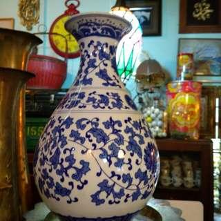 Vase/pot porselin china Dd4