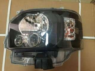 Hiace Blackbase Headlight