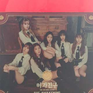 Gfriend The 4th Mini Album THE AWAKENING 凈專
