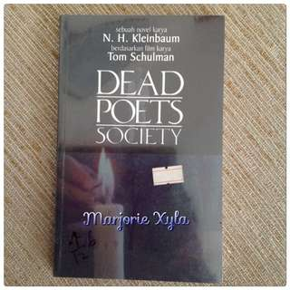 Novel - Dead Poets Society