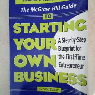 Starting Your Own Business (Second Edition)