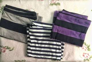 ALL IN H&M Striped Bandage Skirt (Take all of 500)