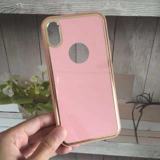 Pretty Pink Cover/Case for iPhone X