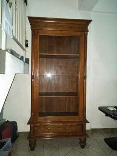 Teakwood Display Cabinet