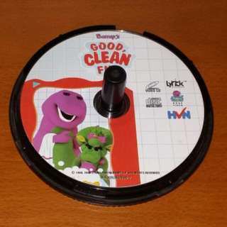 Barney's Good Clean Fun VCD