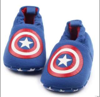 Captain America prewalker shoes