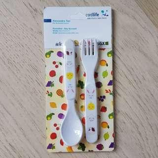 🚚 Cordlife Spoon & Fork Set