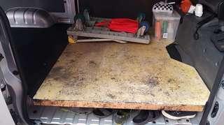 Hiace plank wood board