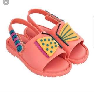 BN Mini Melissa Butterfly Sandals
