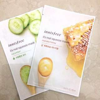 innisfree it's real squizee mask