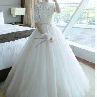 Korean Style Wedding Gown