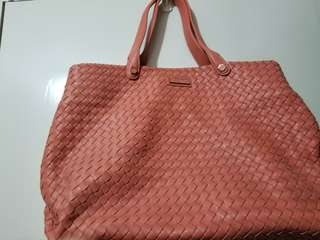 Charles & Keith Orange bag 橙色手袋