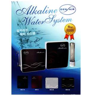 Gen Air Alkaline Water System With Faucet - 6 Stages (693)