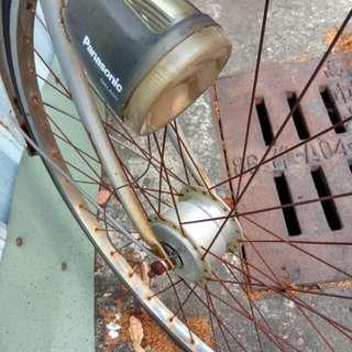 皮帶腳踏車