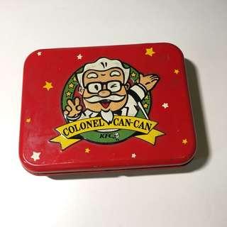 絕版懷舊KFC鐵盒 60年代出品