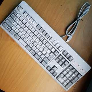 Topre Realforce 108U all30g white hiragana