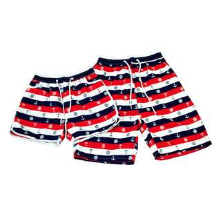 KB-13 Fashion Casual Beach wear Couple shorts (1pair)