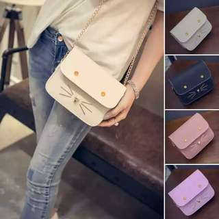 Women Kitty Fashion Mini Handbags