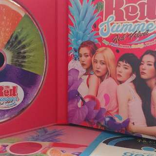 Red Velvet Summer Mini Album RED SUMMER 凈專