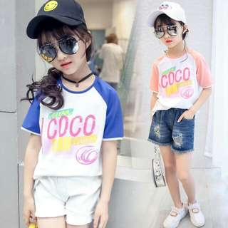 Short Sleeve Round Neck Casual T-shirt