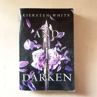 AND I DARKEN (Paperback)