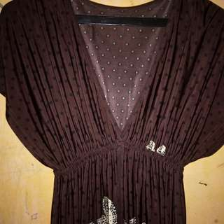 Dress kalong bahan jersey all size