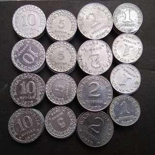 Paket mahar 18 rupiah 10-5-2-1