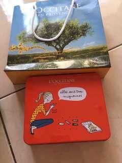 歐舒丹護手霜禮盒