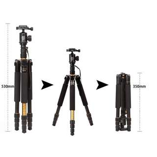 🚚 Beike Q999s Tripod + Monopod + Ball Head (Small and Compact)