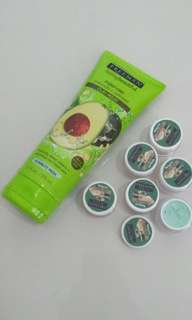 Freeman Avocado & Oatmeal claymask
