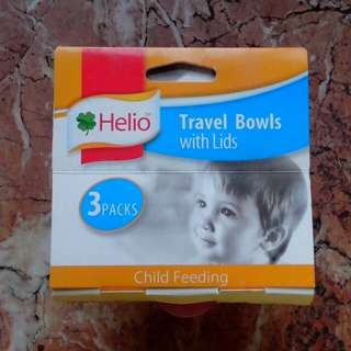 Travel Bowls with Lids