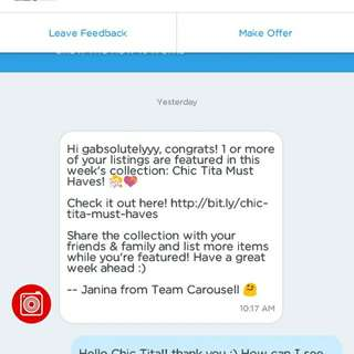 Thank you so much, Carousell ❤🙏☝