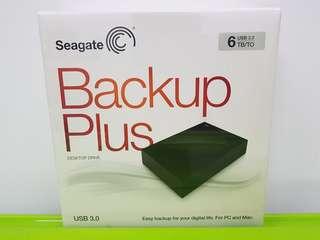 Seagate backup plus 6tb usb3.0 desktop external hard drive