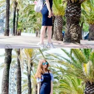 ELegant 2in1 jumper dress