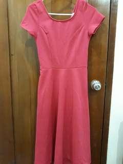 Designer Pink Gown