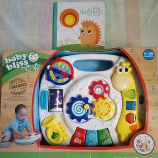 Baby Bliss Musical Activity Table