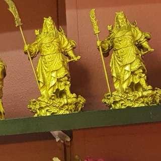 Guan gong statue(made of 铜)