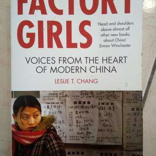 Factory Girls (Voices From The Heart Of Modern China)