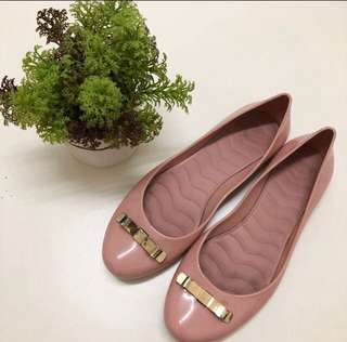 Jelly Bunny Dusty Pink Flats