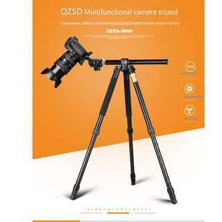 🚚 Beike Q999H Multi-function Tripod + Monopod + Ball Head (Special Function)