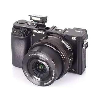 Kredit Kamera SONY A6000 kit 16-50 mm ready Laptop PS4 HP
