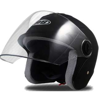 BYB 870 Matt Black Helmet