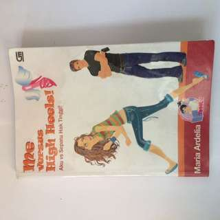 Buku novel, teenlit, dll