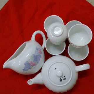 6 Cups & 2 Tea Pot (Sets)