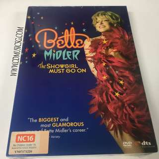 🚚 [DVD] Bette Midler - The Showgirl Must Go On