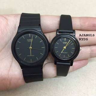 Original and Brand New Casio Couple Vintage Watches