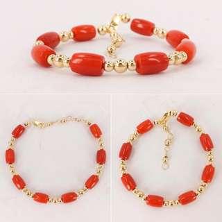 🆕Red Coral Bracelet