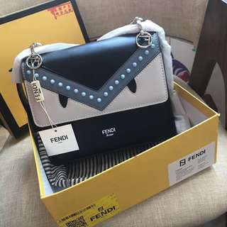 Fendi monster bag, points exchanged item.SG ready stock.