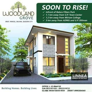 Woodland Grove House and Lot for Sale near UP Diliman Quezon City