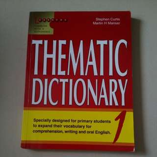 Thematic Dictionary 1